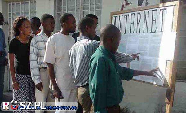 Ile procent mieszkańców Afryki ma dostęp do internetu?