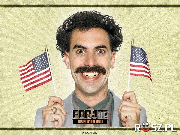 Ile tygodni aktor zapuszczał wąsy, żeby stać się Boratem?