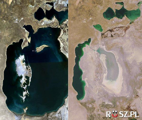 Ile lat zajął ten ubytek wody z Jeziora Aralskiego?