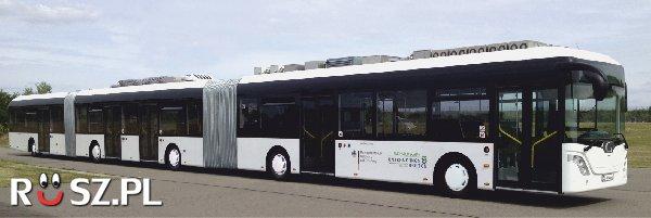 Ile metrów ma ten niemiecki autobus?