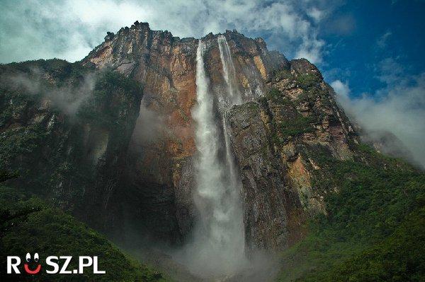 Ile razy wyższy od Niagary jest wodospad Salto Andel ?