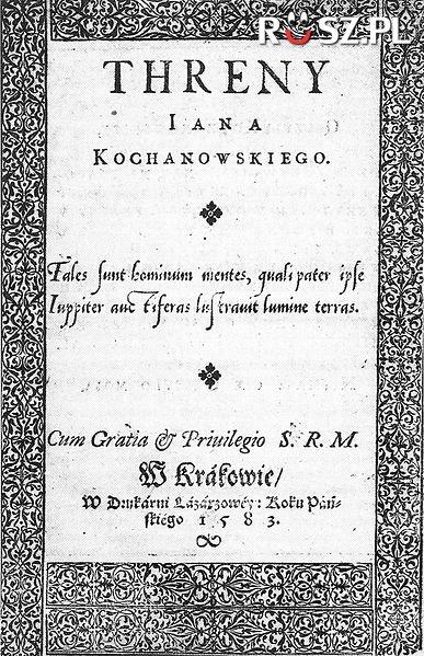 Ile trenów napisał Kochanowski ?
