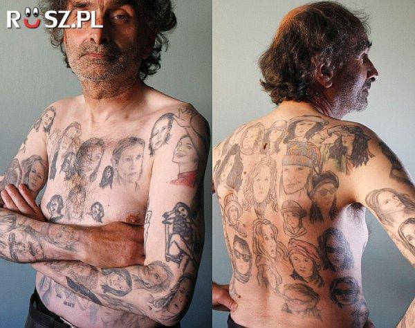 Ile ma tatuaży z Julią Roberts?