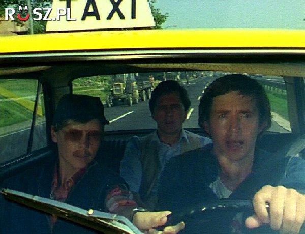 """Podaj numer boczny taksówki z serialu """"Zmiennicy"""""""