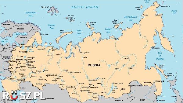 Jaką powierzchnię zajmuje Rosja ?