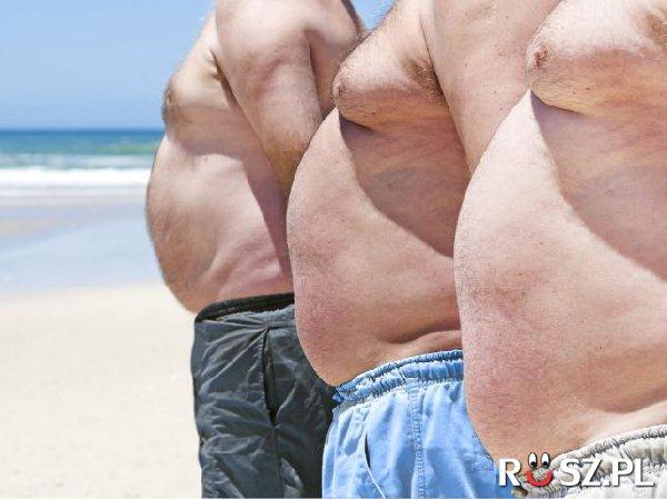 Ile % mężczyzn w Polsce ma nadwagę?