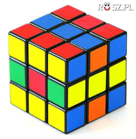 Ile jest żółtych płytek w kostce Rubika?