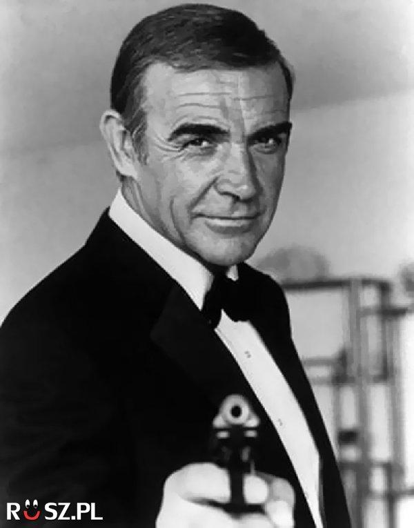 W ilu filmach o agencie 007 zagrał Sean Connery?