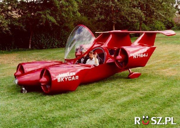 """Ile osób może lecieć w """"latającym samochodzie""""?"""