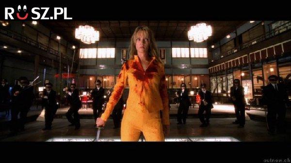 """Ile litrów sztucznej krwi zużyto w obu częściach filmu """"Kill Bill"""" ?"""