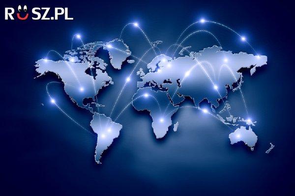 W którym roku Polska została podłączona do internetu ?