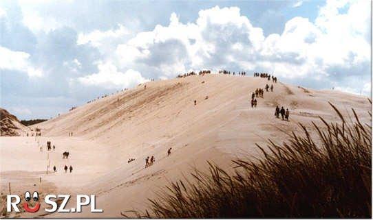 Ile metrów wys. ma najwyższe góra piasku w Europie?