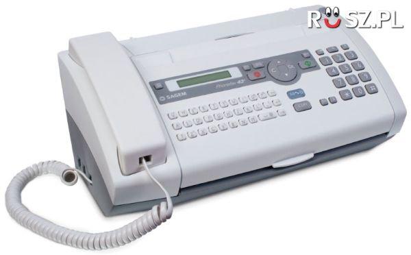 W którym roku wynaleziono faks ?