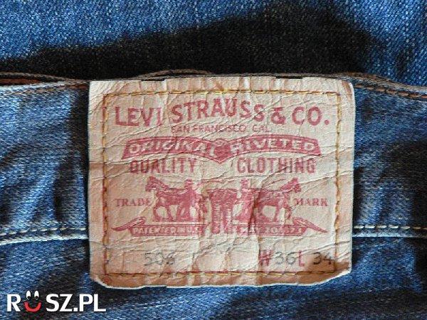 Kiedy wyprodukowano pierwsze jeansy ?
