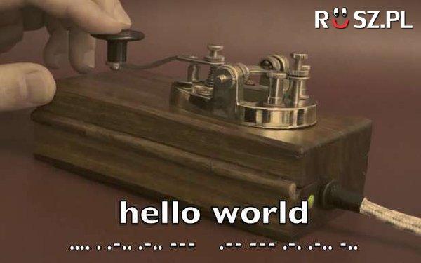 Z ilu znaków składa się alfabet Morse'a ?