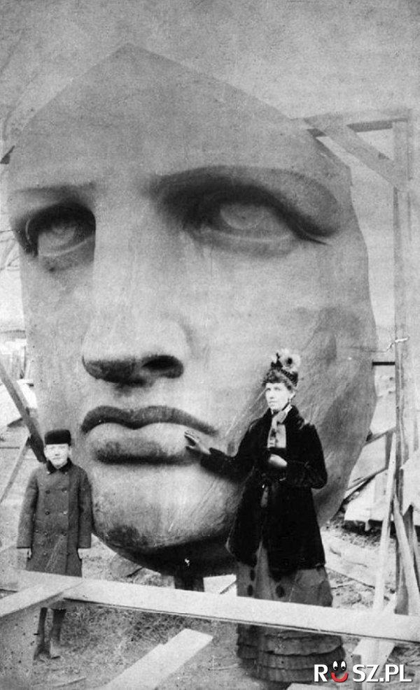 Ile metrów ma głowa Statui Wolności?