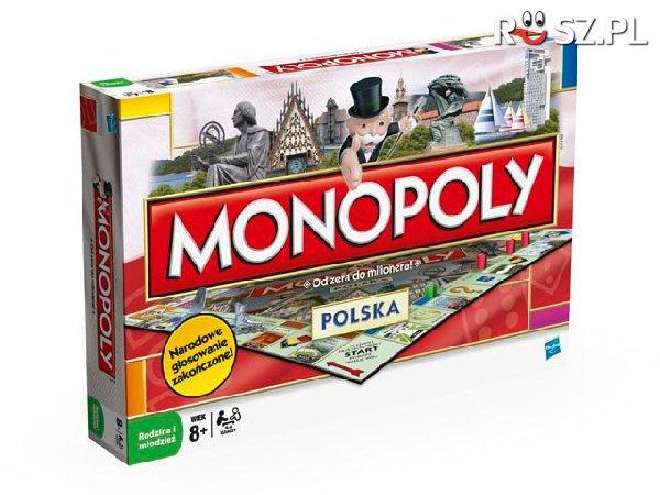 Ile miast jest na planszy gry Monopoly Polska