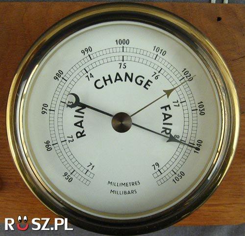 Jaka jest średnia wartość ciśnienia atmosferycznego na poziomie morza?