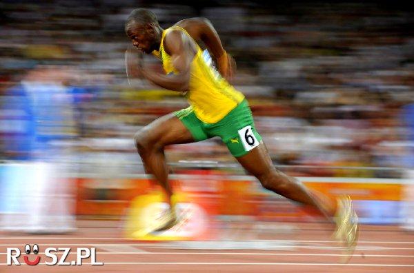 Z jaką prędkością biega najszybszy człowiek świata?
