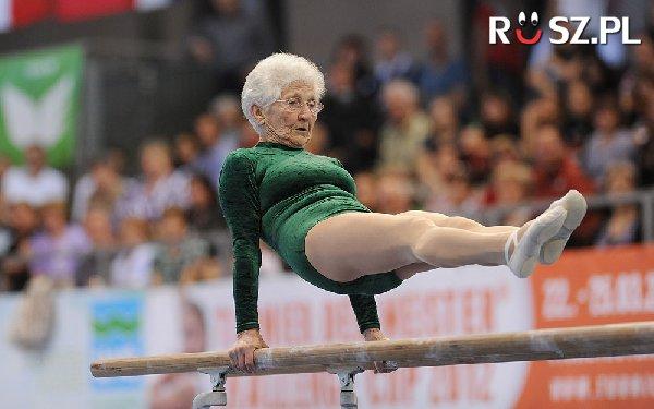 Ile lat może mieć ta gimnastyczka?